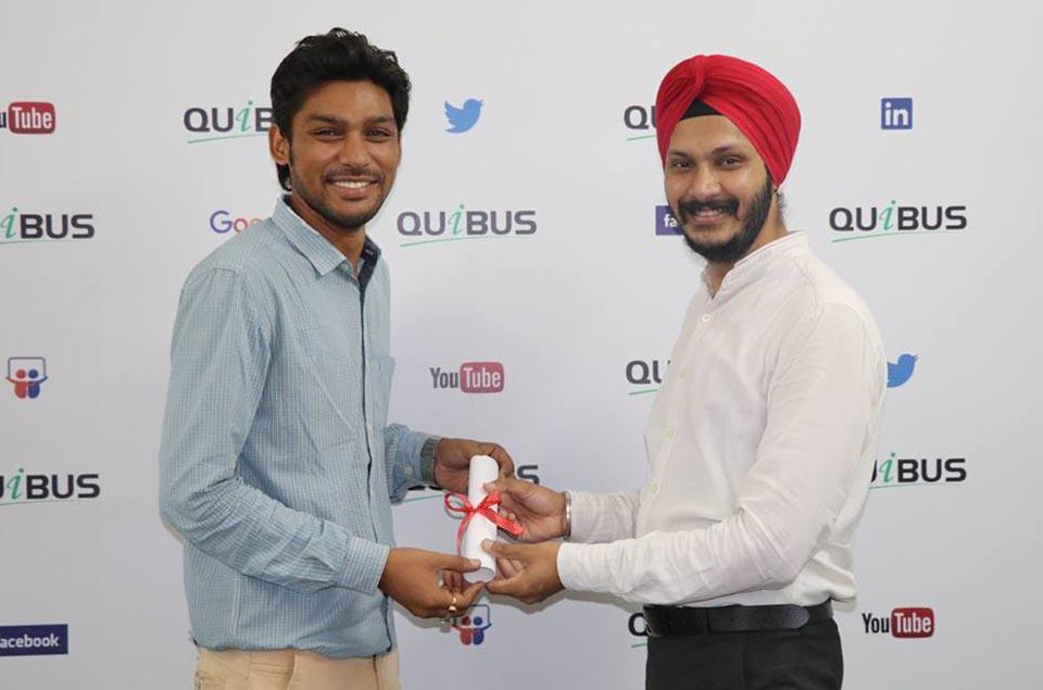 Quibus Trainings Certification Ceremony-5
