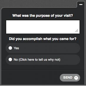 Qualaroo survey form